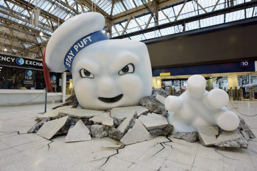 Ghostbusters Waterloo - Stay Puff escape