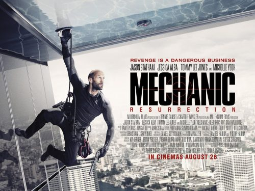 Jason Statham is The Mechanic