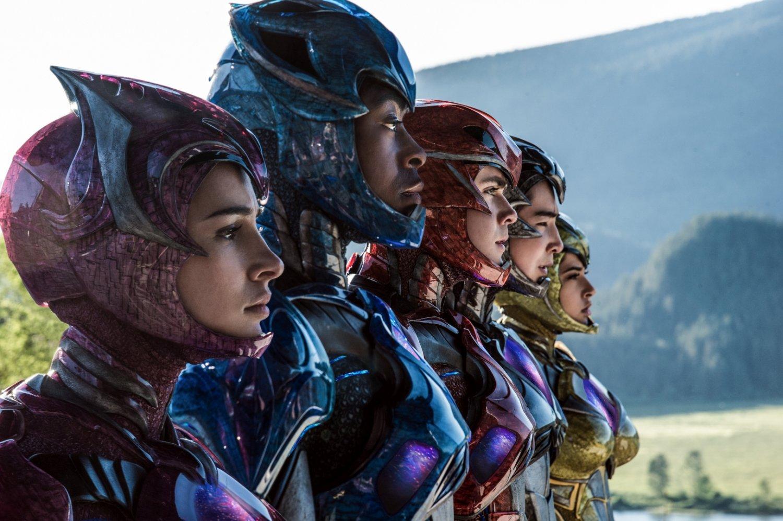 Power Rangers unmasked