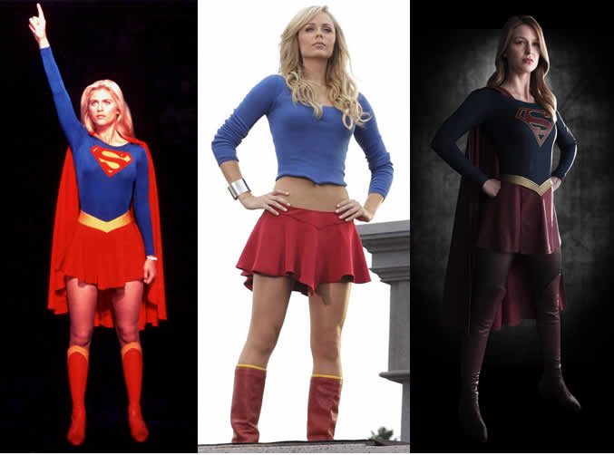 Supergirl over the years