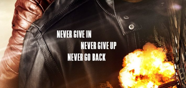 Jack Reacher Never Go Back has a poster