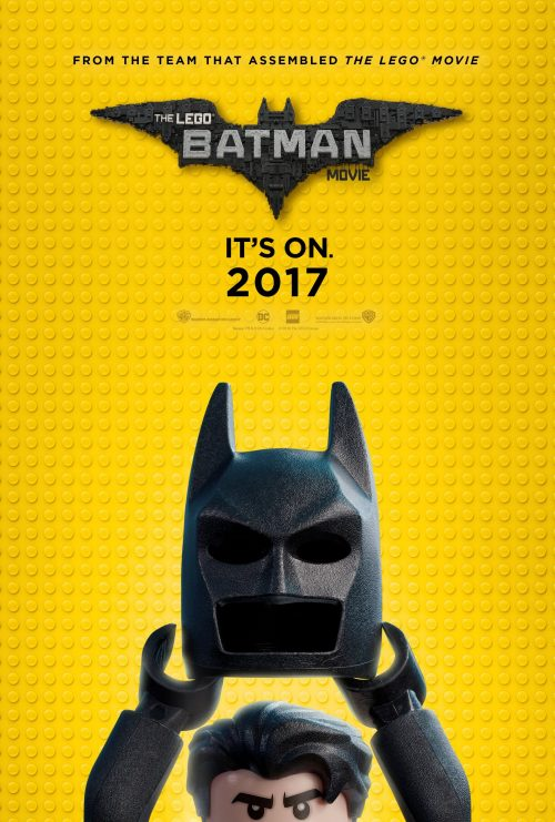 Lego Batman Comic Con artwork