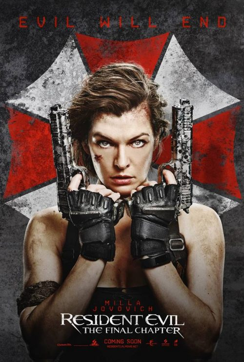 Alice and the Resident Evil The Final Chapter poster