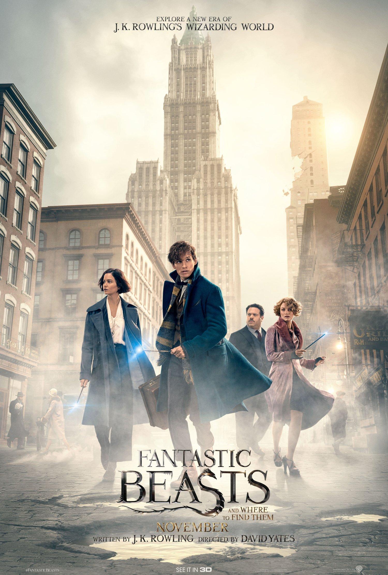 Fantastic Beasts – Final Poster