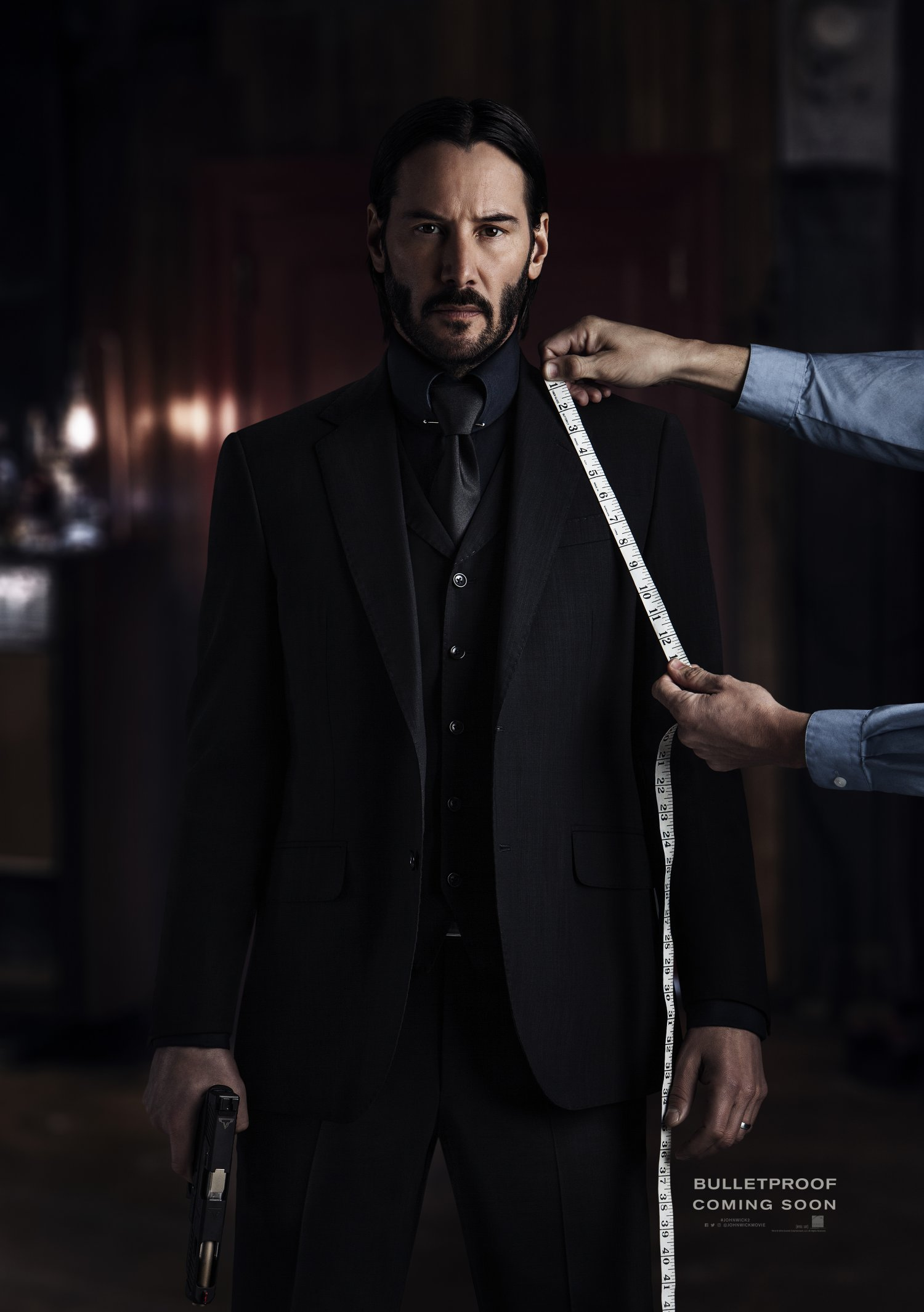 John Wick Chapter Two teaser poster