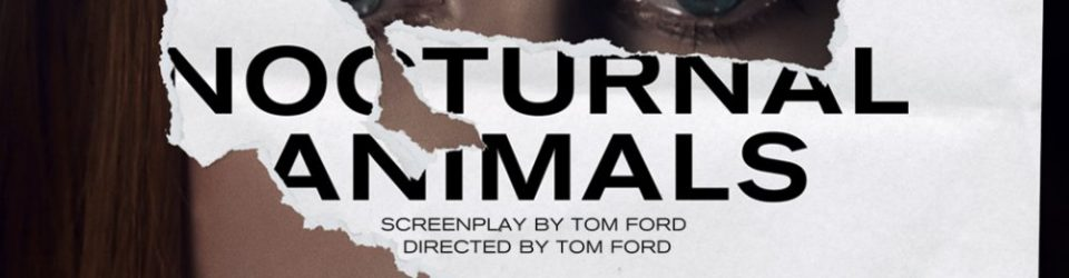 Nocturnal Animals has posters
