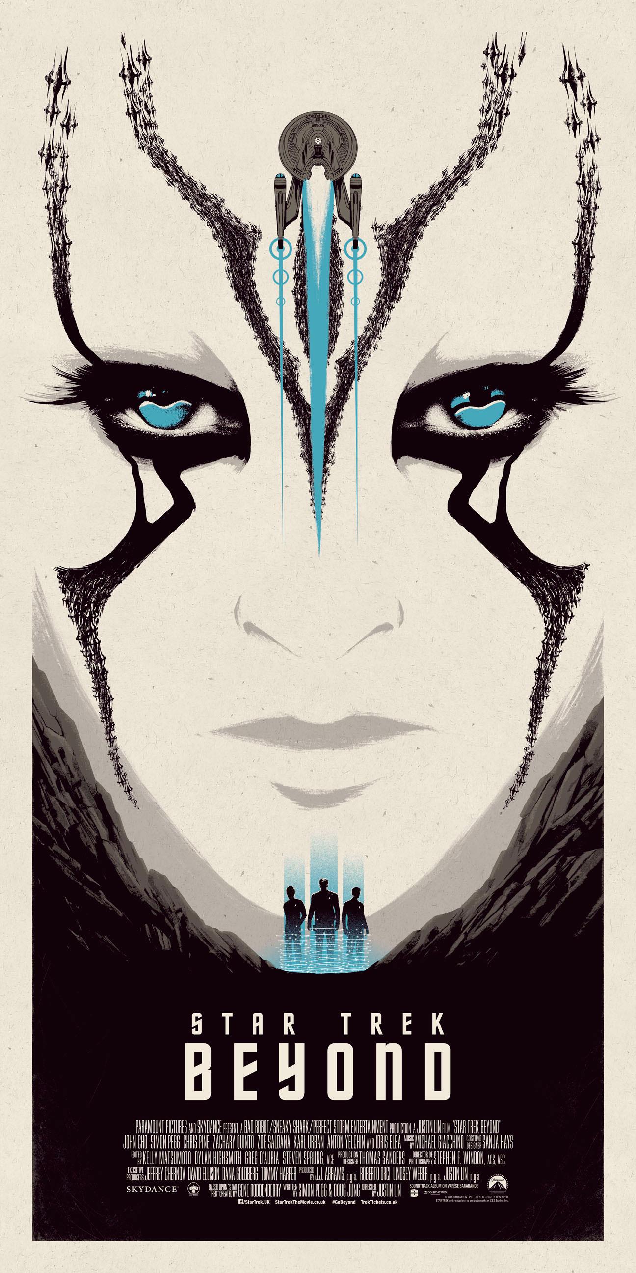 Star Trek Beyond – Blue poster