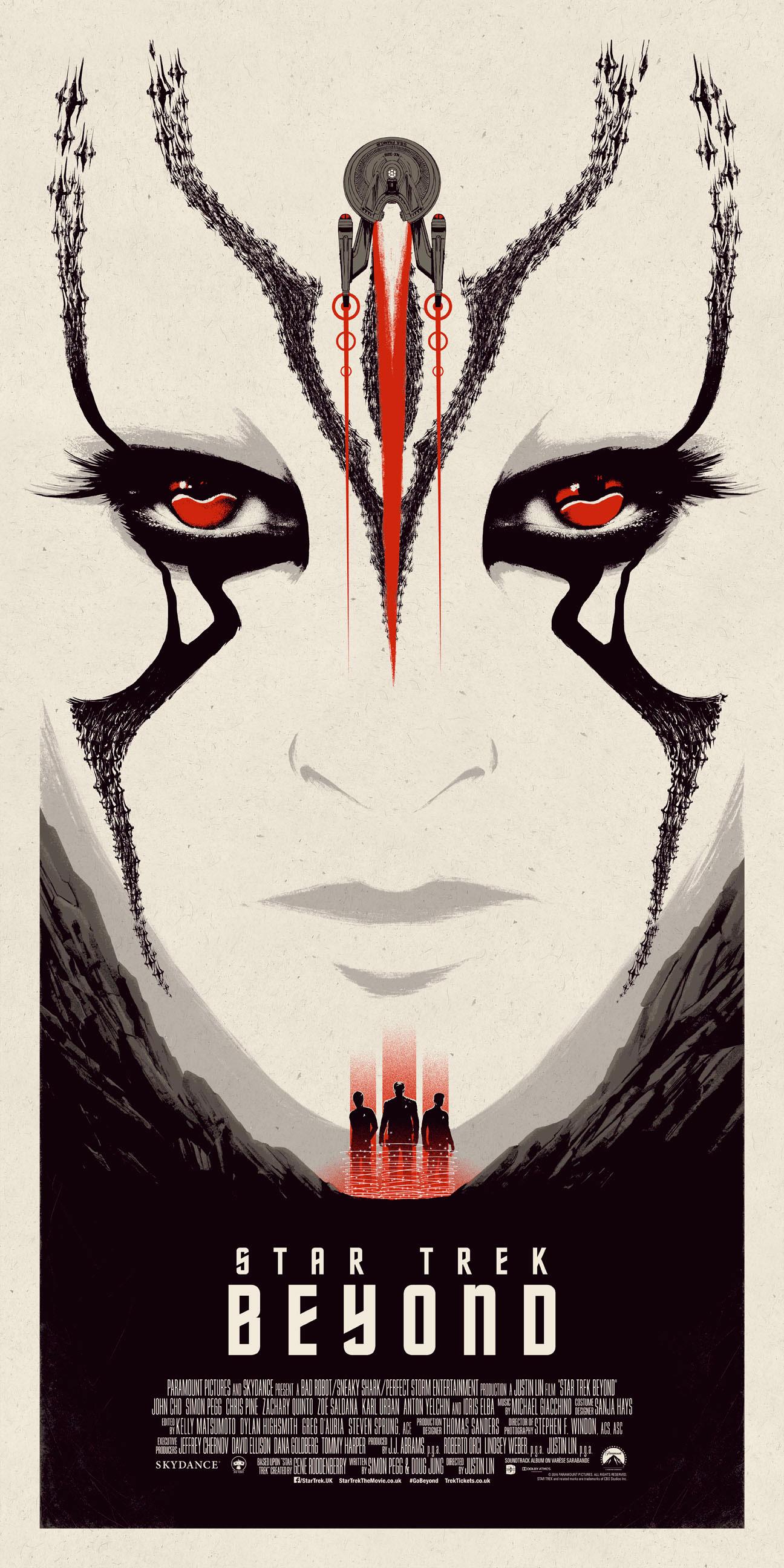 Star Trek Beyond – Red poster