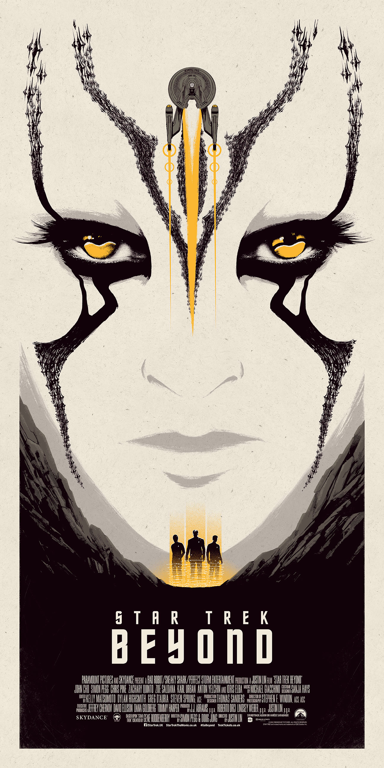Star Trek Beyond – Yellow poster