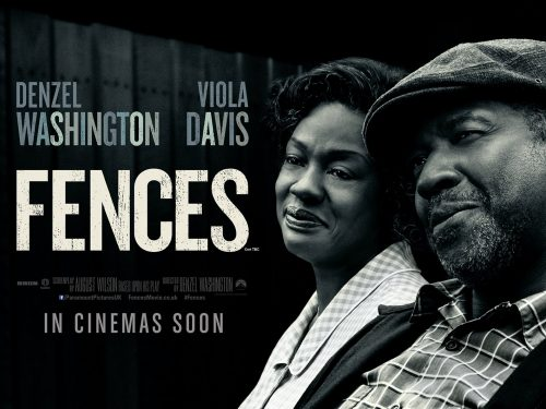 Fences UK quad poster