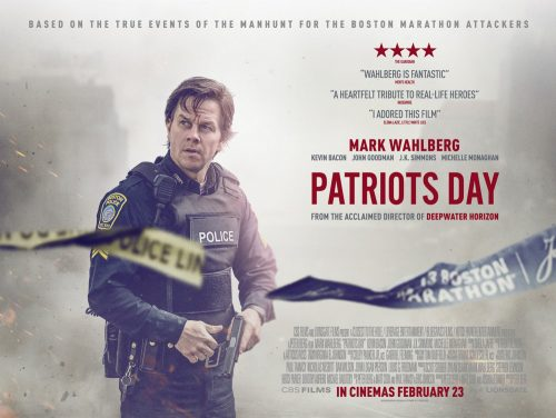 Patriots day quad poster