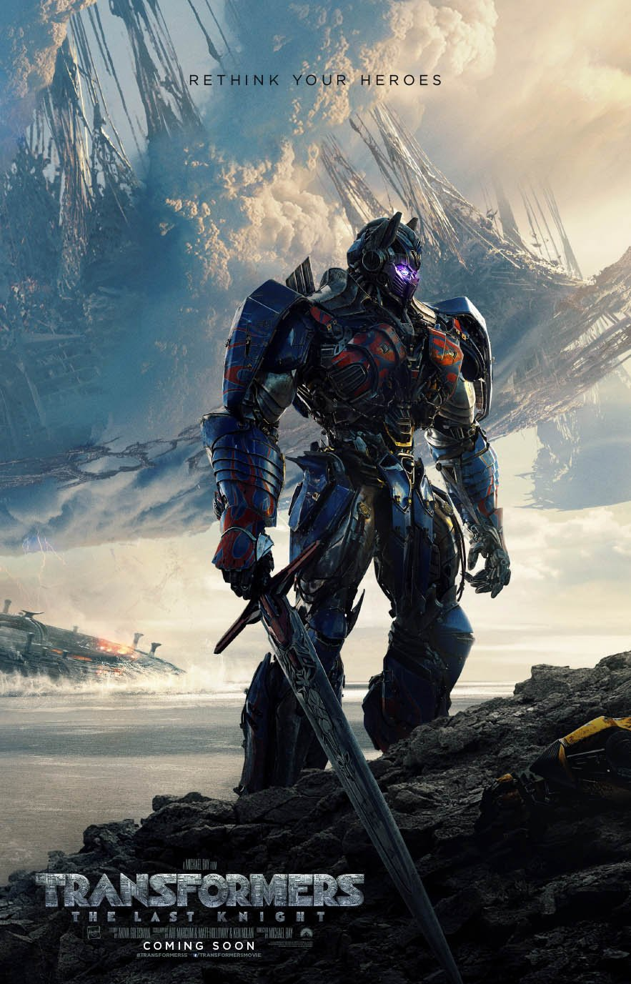 Transformers – The Last Knight poster