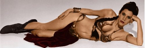 princess leia slave
