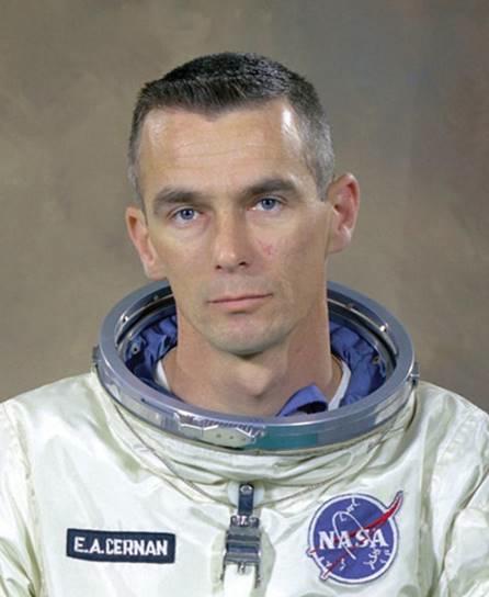 Captain Gene Cernan – Credit NASA