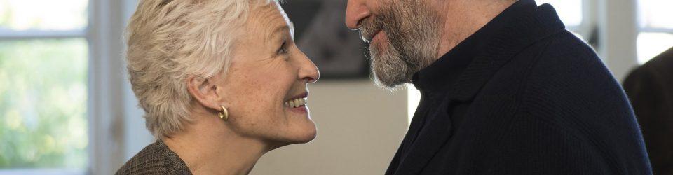 Glenn Close and Jonathan Pryce star as Joan and Joe Castleman