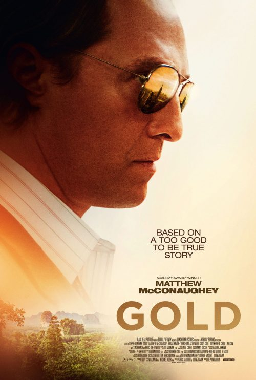 Gold 1 sheet alternative poster