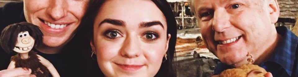 Maisie Williams goes back in time