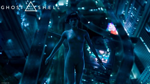 Ghost in the Shell film wallpaper