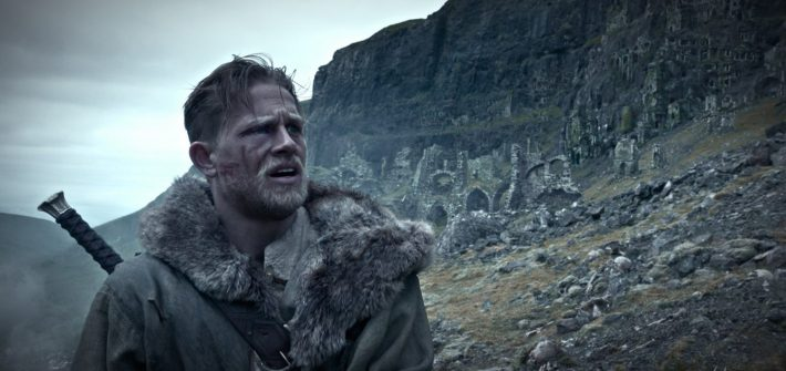King Arthur has a trailer