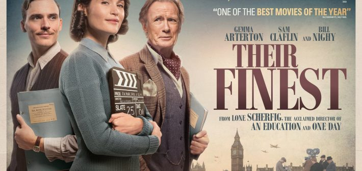 Their Finest quad poster