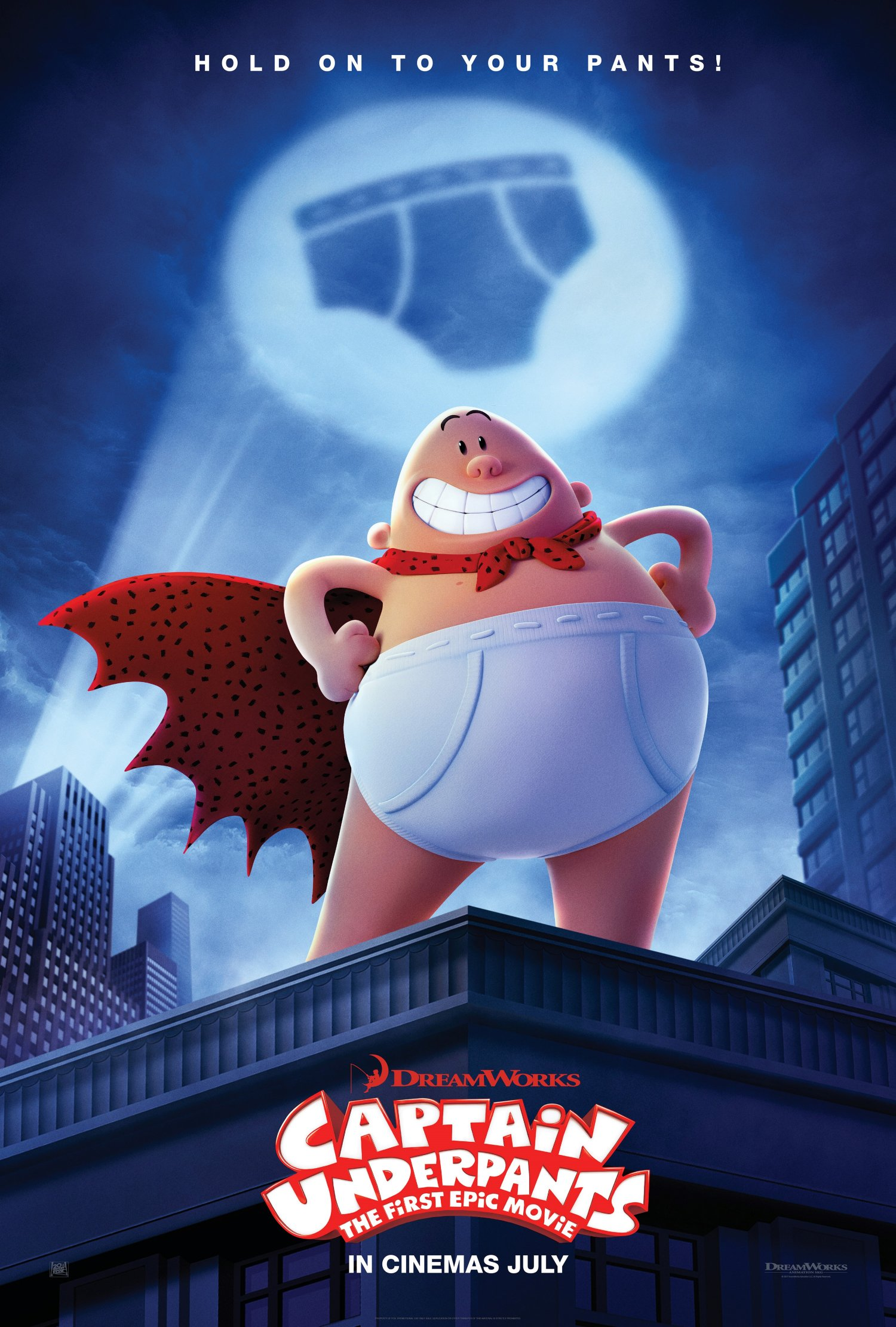 Captain Underpants New Teaser One Sheet