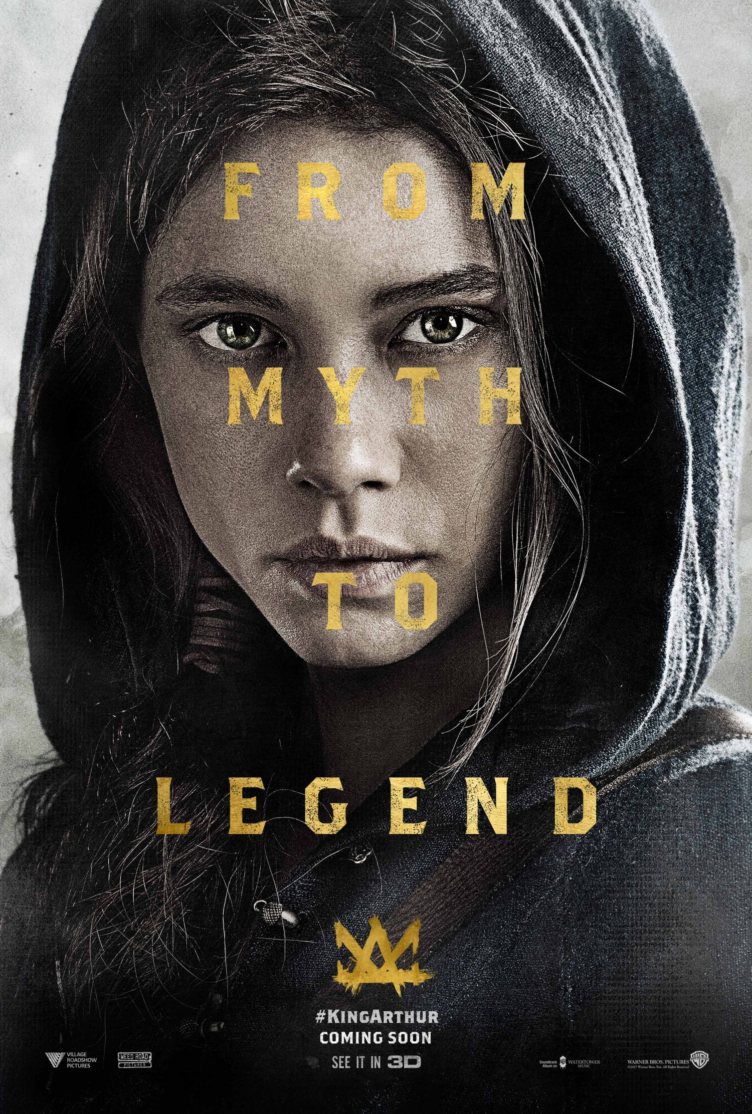 Astrid Bergès-Frisbey as The Mage