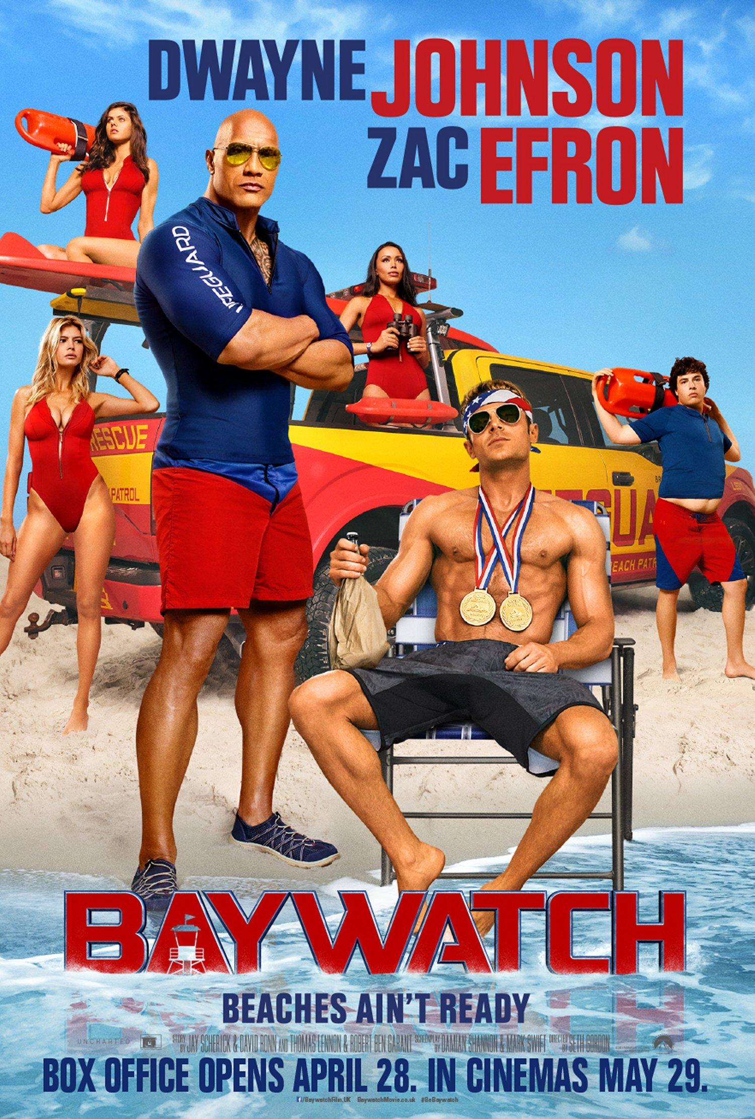 Baywatch truck poster