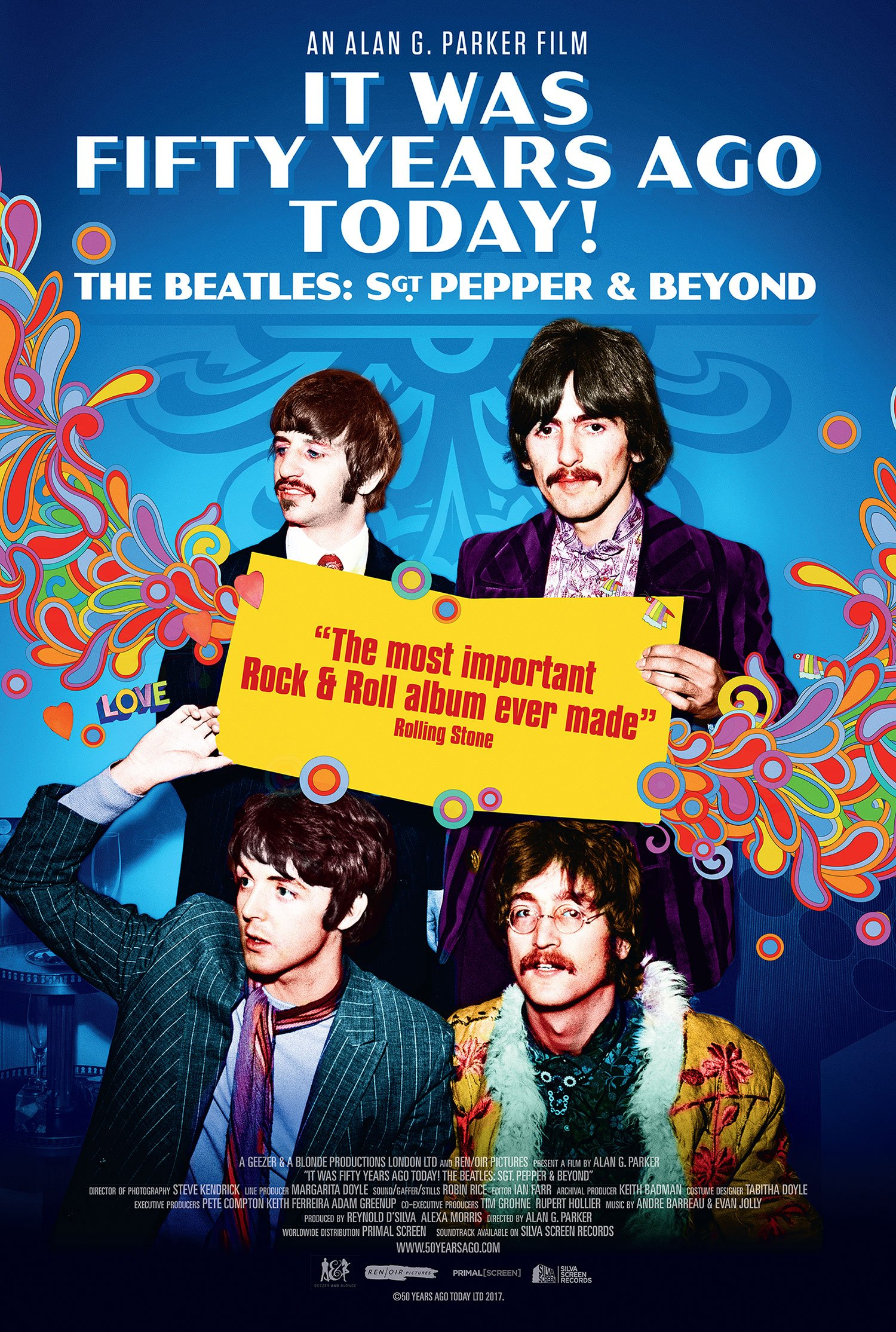 IT WAS FIFTY YEARS AGO TODAY! THE BEATLES SGT. PEPPER & BEYOND poster