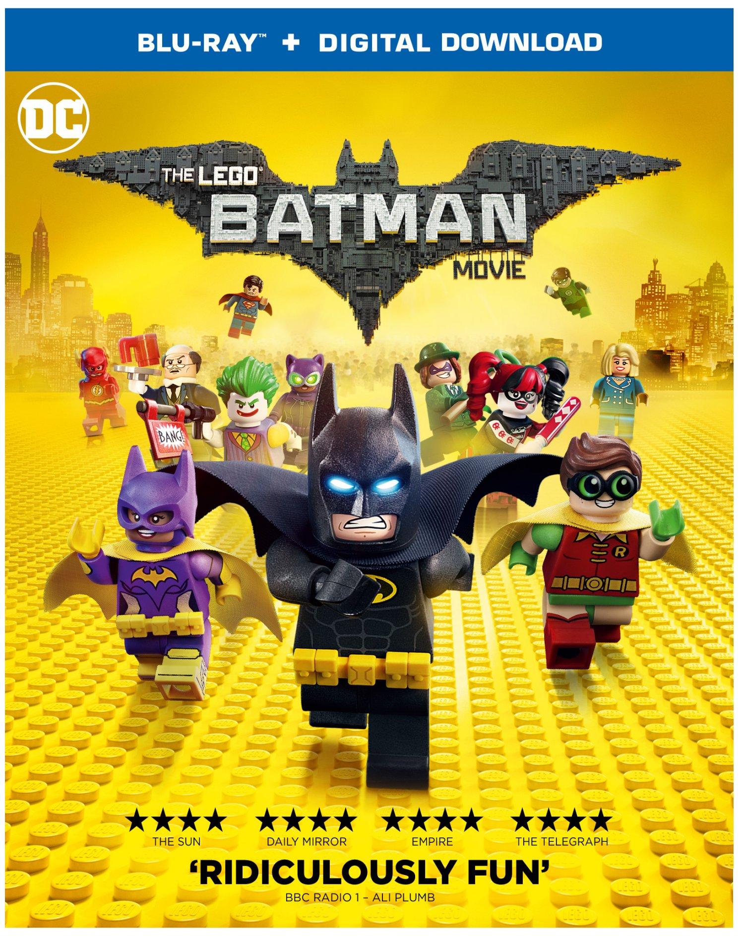 Lego Batman cover
