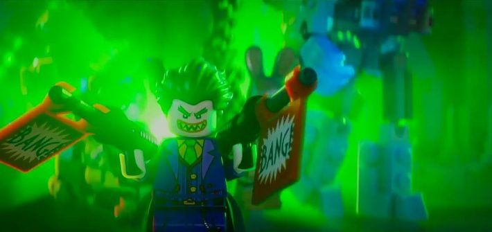 Lego Batman comes home