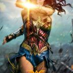 Wonder Woman Deflection Poster