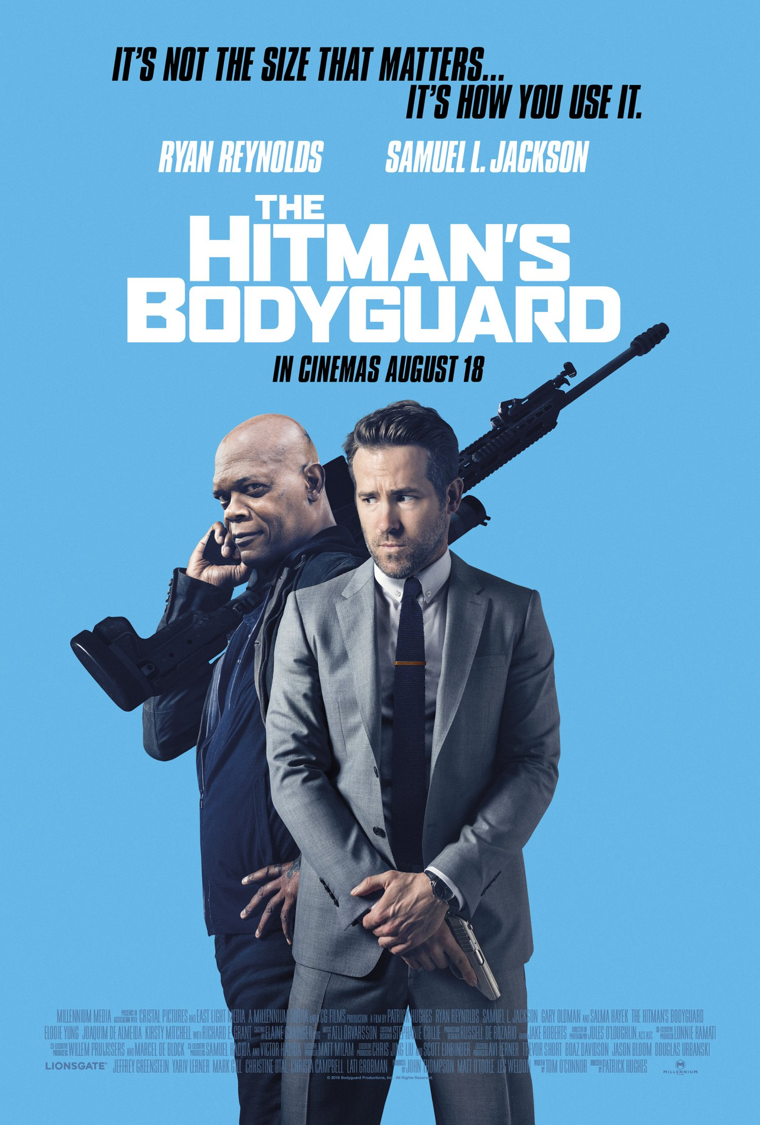 The Hitman's Bodyguard – UK poster