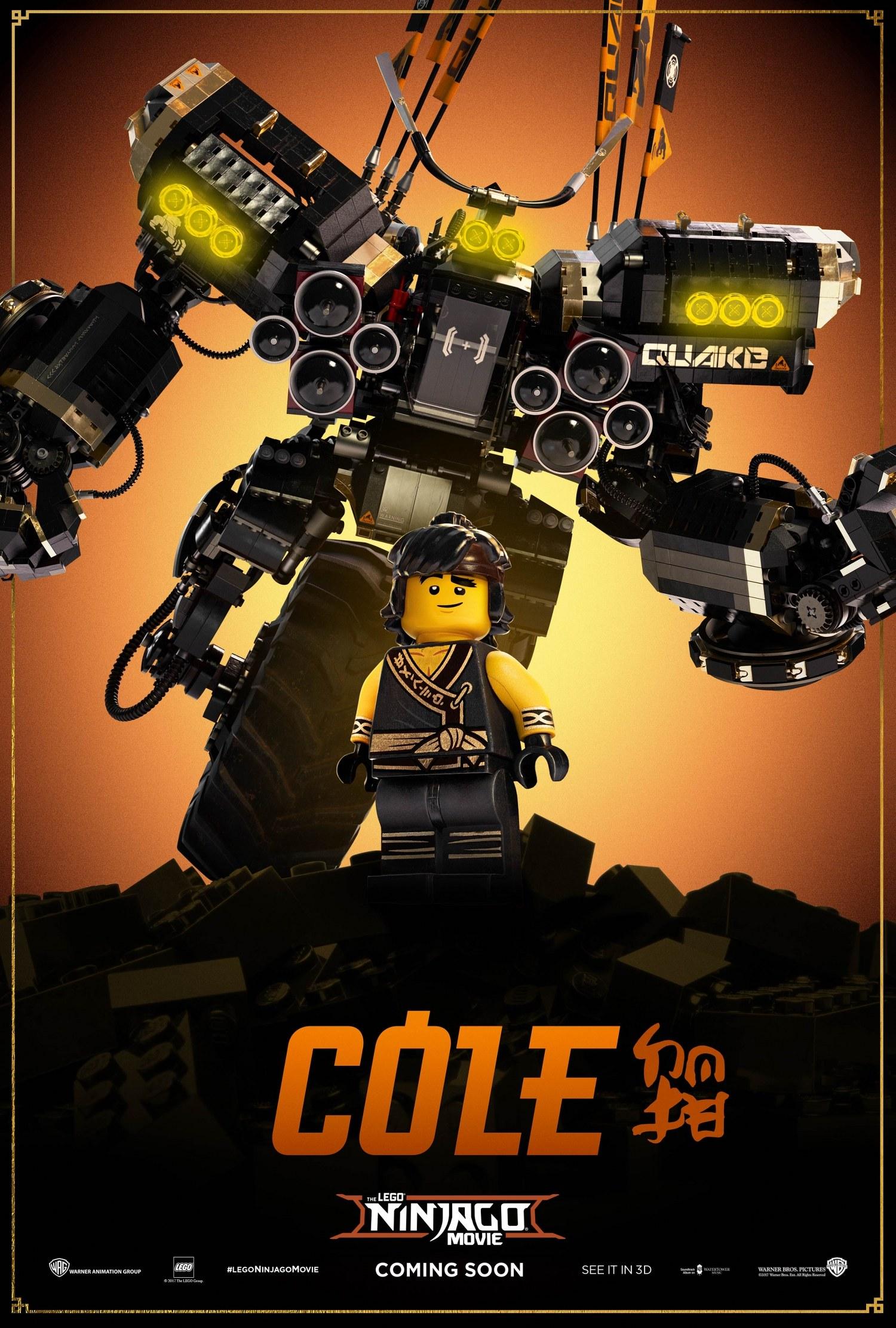 LEGO Ninjargo Movie – Cole