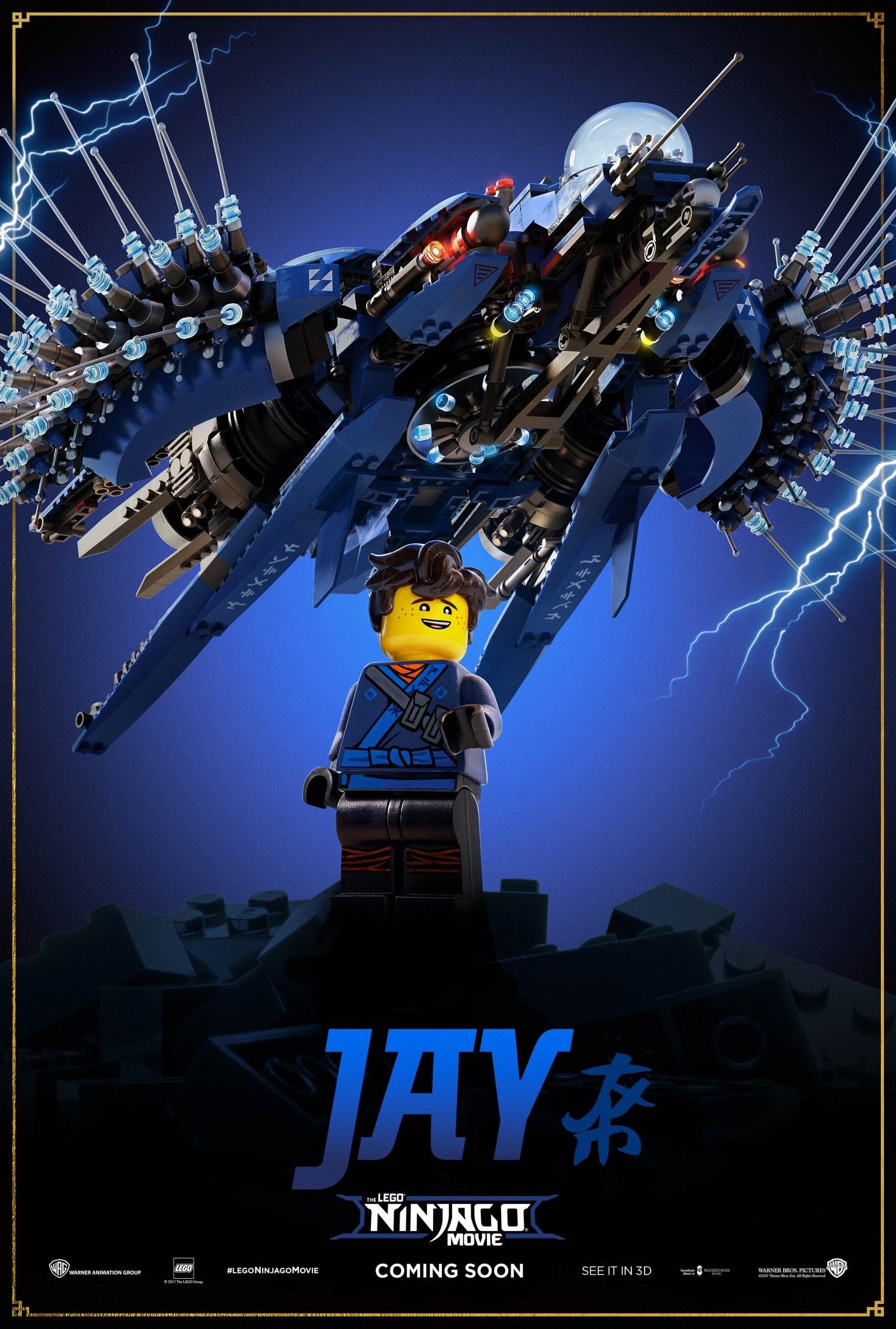 LEGO Ninjargo Movie – Jay