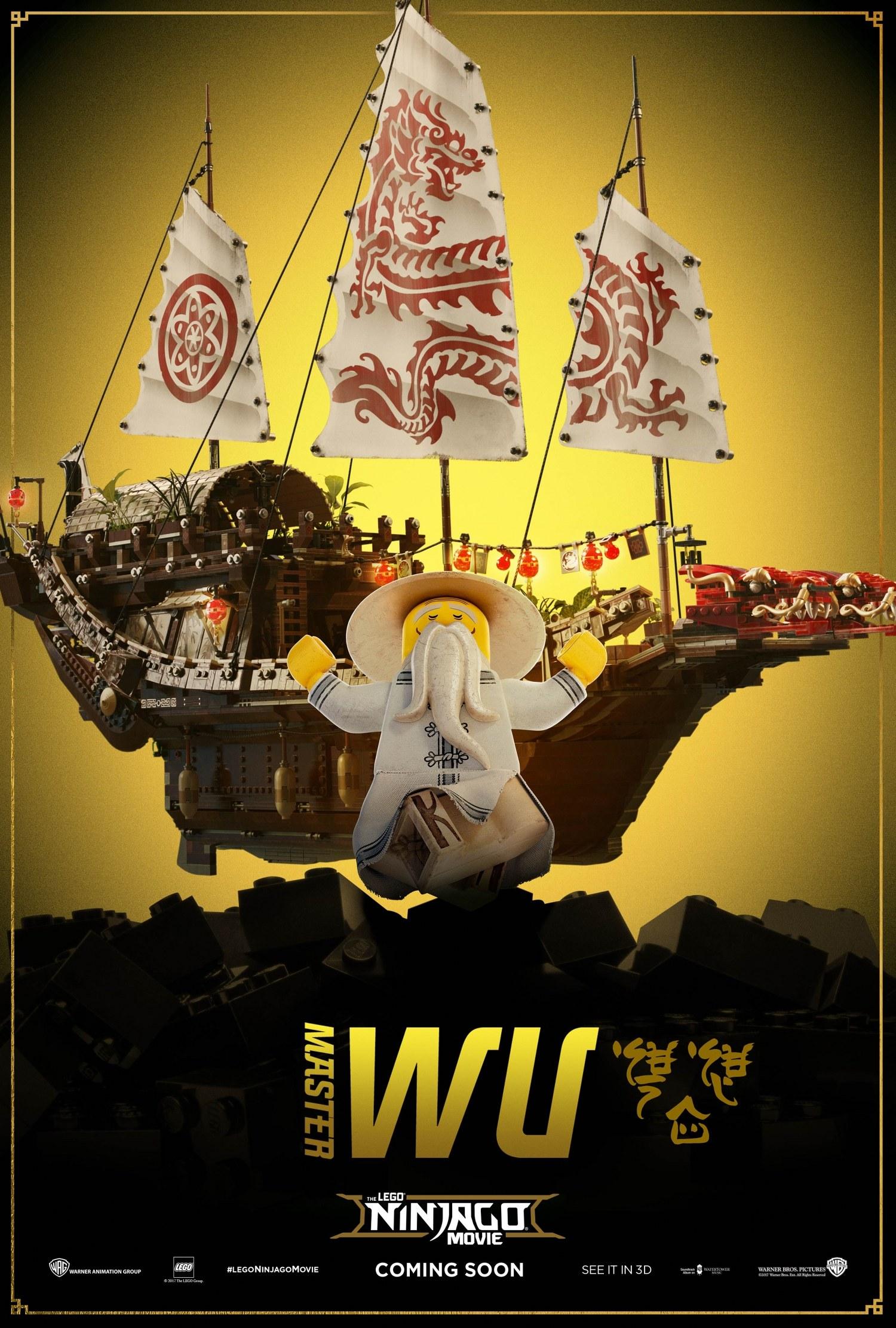 LEGO Ninjargo Movie – Master Wu