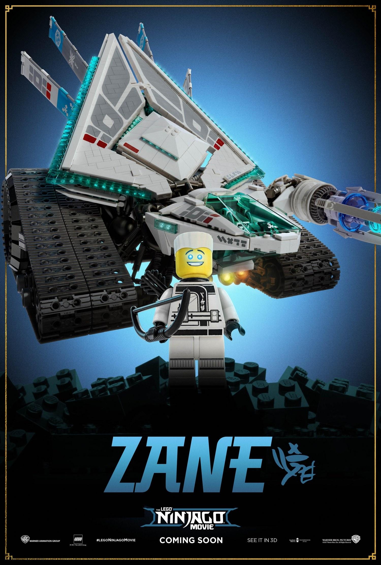 LEGO Ninjargo Movie – Zane
