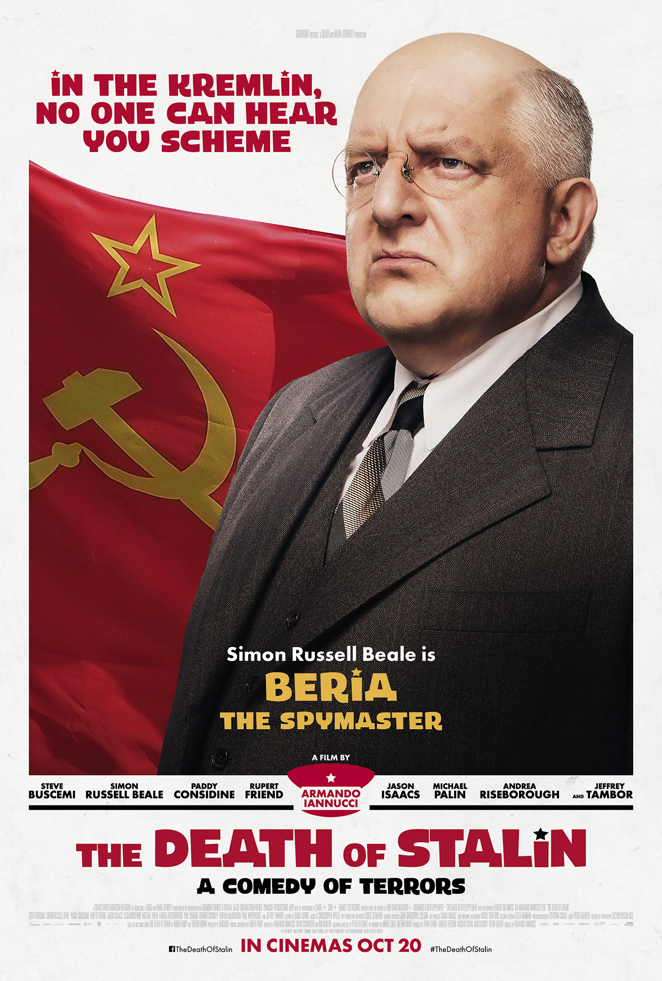 The Death of Stalin character poster Beria