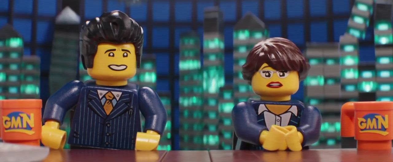 The LEGO Ninjago Movie – Kate Garraway and Ben Shephard