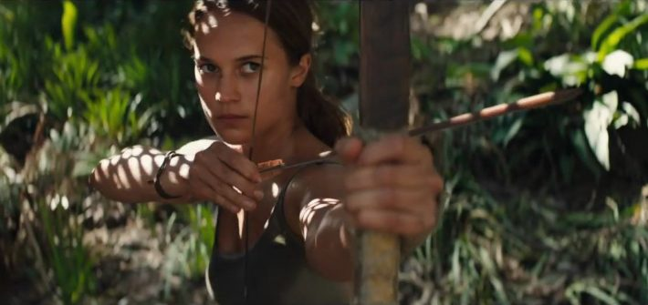 Tomb Raider's trailer