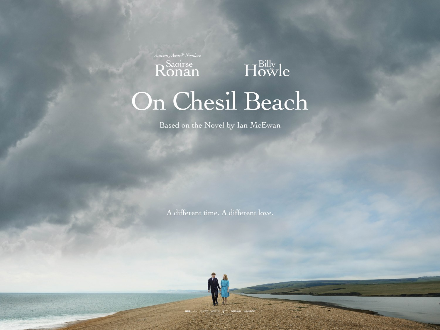 on chesil beach quad poster