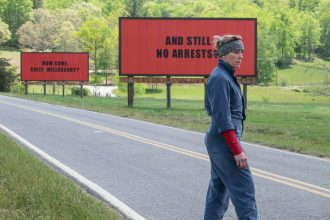 Three Billboards is named Film of the Year by the London Critics' Circle