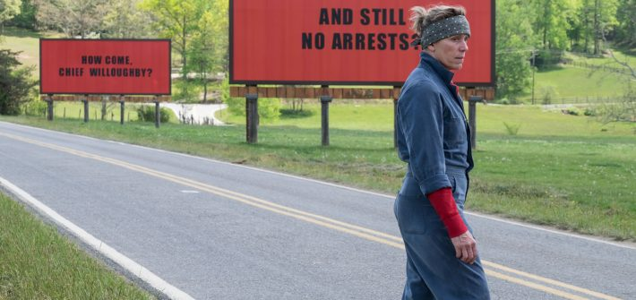 Three Billboards Outside Ebbing, Missouri has a trailer