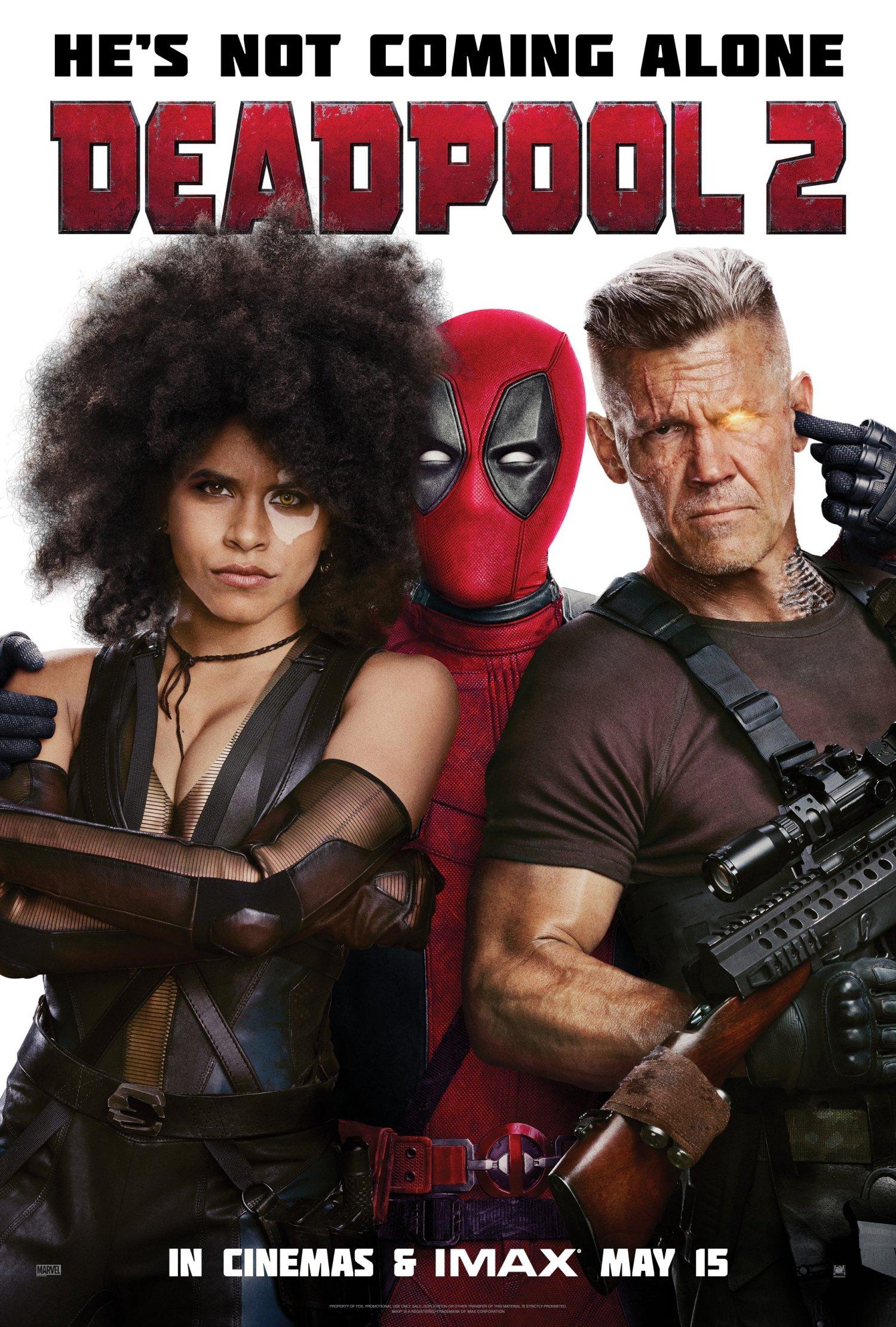 Deadpool 2 – Launch Online One Sheet