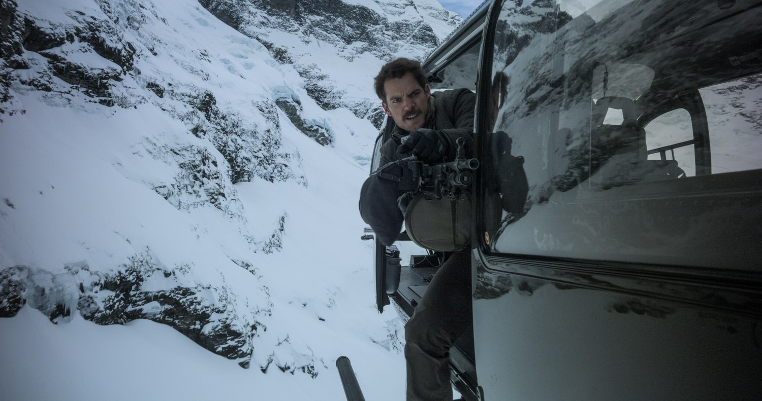 Henry Cavill in MISSION: IMPOSSIBLE – FALLOUT
