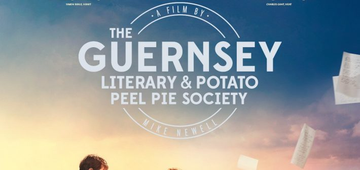 The new poster for The Guernsey Literary And Potato Peel Pie Society has arrived