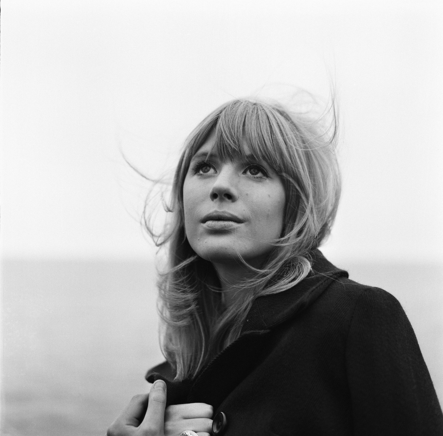 Marianne Faithfull in Liverpool. 8th June 1965.