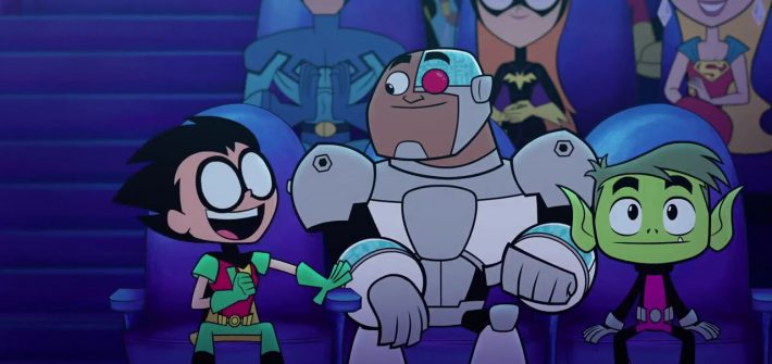 Teen Titans are back