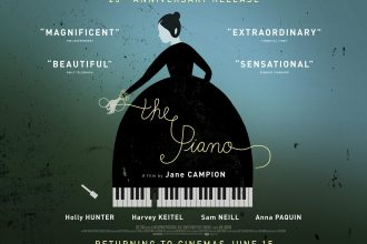 The Piano's 25th anniversary poster
