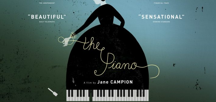 The Piano's 25th anniversary poster