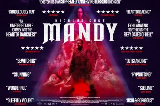Mandy has a poster